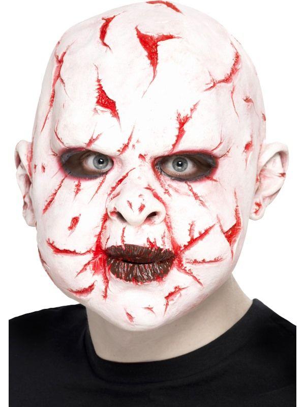 Maska - pořezaný obličej (91) Smiffys.com