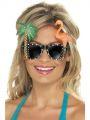 Brýle - havaj s palmou a plameňákem (48B)