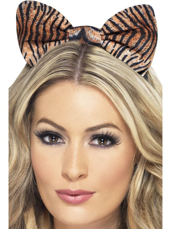 Čelenka s mašlí tygr (52) Smiffys.com