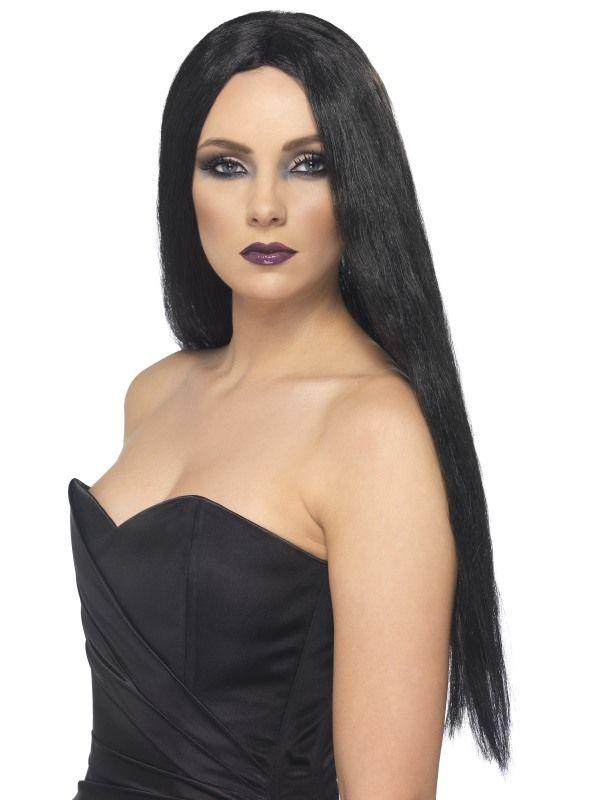 Paruka čarodějnice černá 61 cm (5-B) Smiffys.com