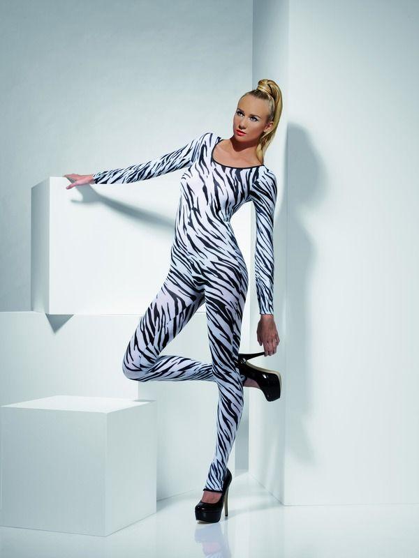 Sexy prádlo - Zebří body - overal (34) Smiffys.com