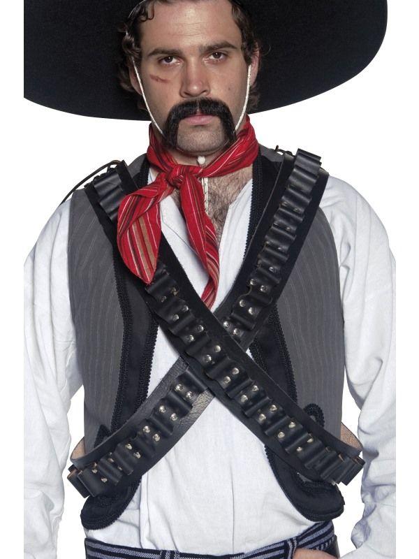 Western pásy kožené Smiffys.com