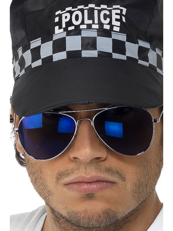 Brýle - policejní modré skla (48-A) Smiffys.com