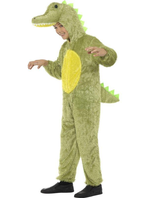 Dětský kostým - krokodýl 7-9let - M (86-F) Smiffys.com