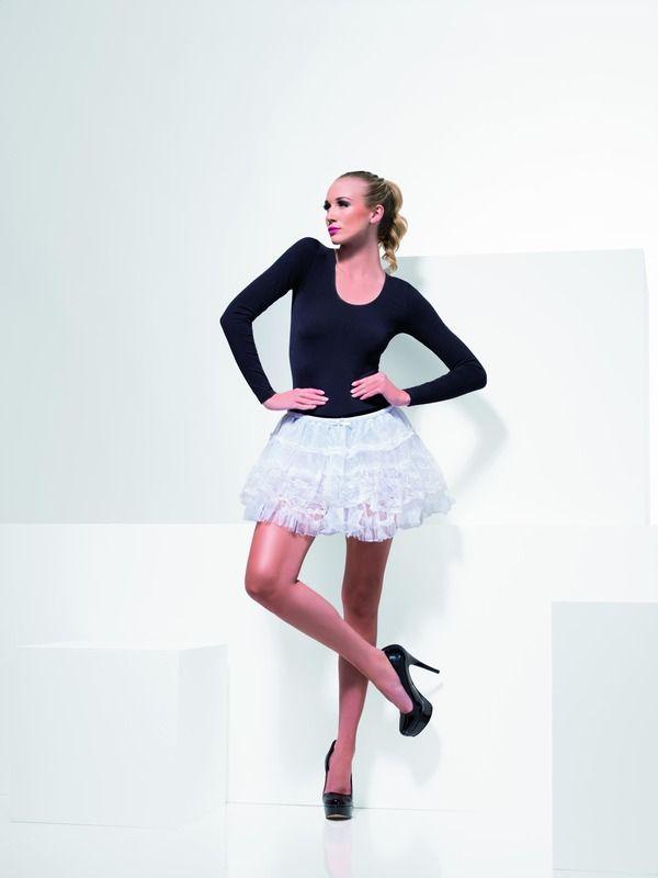 Sukně mini bílá (55) Smiffys.com