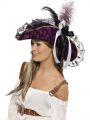 Klobouk pirátka fialový (114-E) Smiffys.com