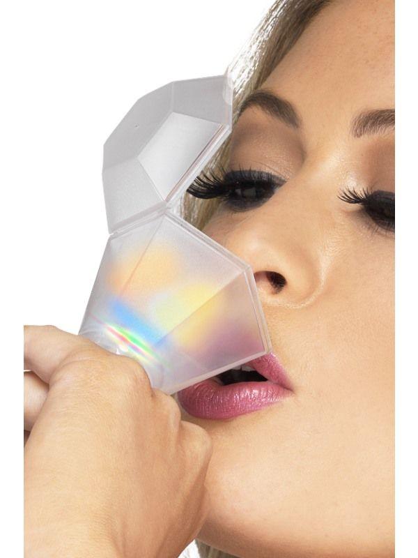 Prsten - paňák barevný blikací (22-E) Smiffys.com