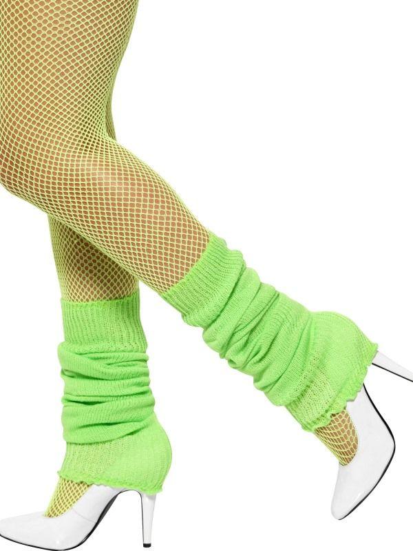 Návleky na nohy zelené (27-F) Smiffys.com