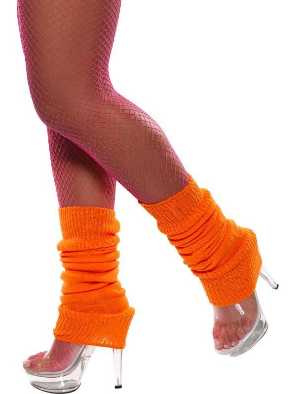 Návleky na nohy oranžové (27-F) Smiffys.com