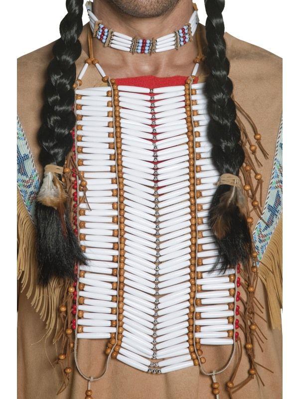 Náhrdelník indiánský - (92) Smiffys.com