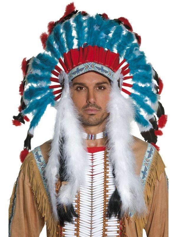 Čelenka - indián náčelník - (62) Smiffys.com