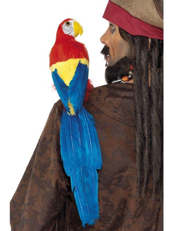 Papoušek barevný (25) Smiffys.com