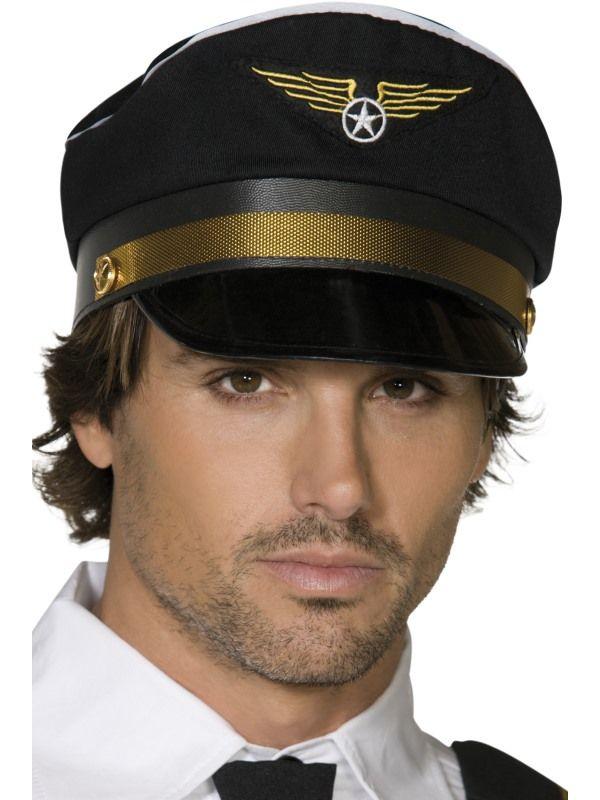 Čepice pilot (113-G) Smiffys.com