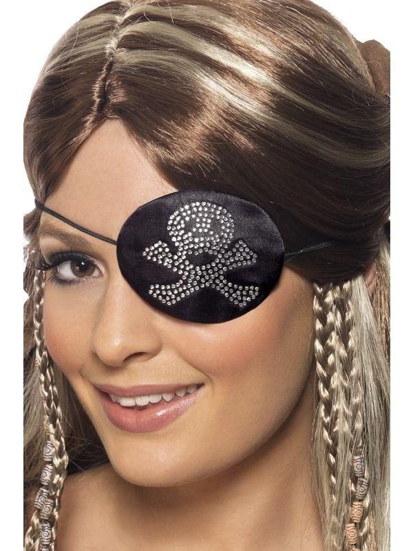 Klapka pirát s lebkou (78-H) Smiffys.com