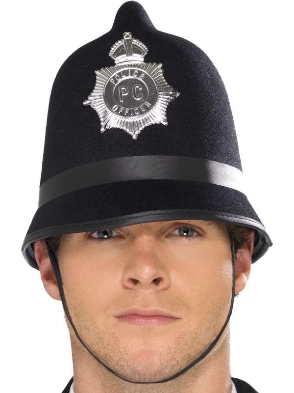 Helma policie - bobík 61cm (113-C) Smiffys.com