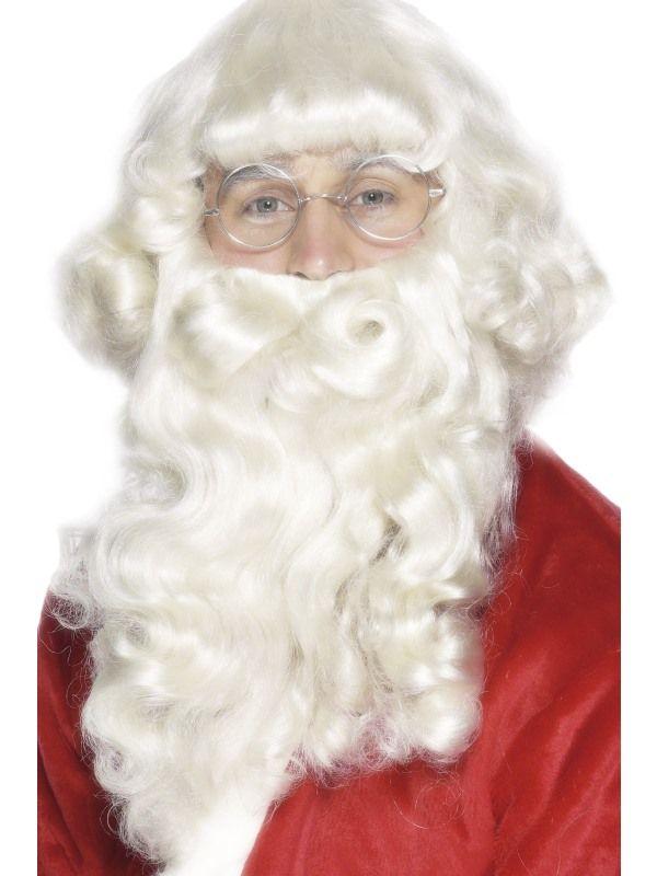 Santa vousy a paruka deluxe 38 cm (58) Smiffys.com