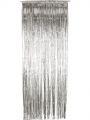 Závěs  - stříbrný -  91 x 244 cm (8-B)