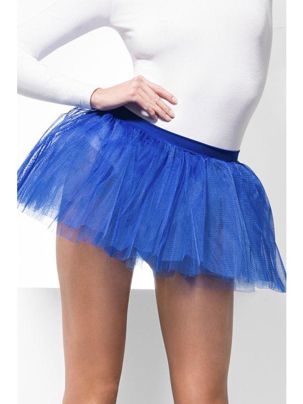 Spodnička - sukně modrá (55) Smiffys.com