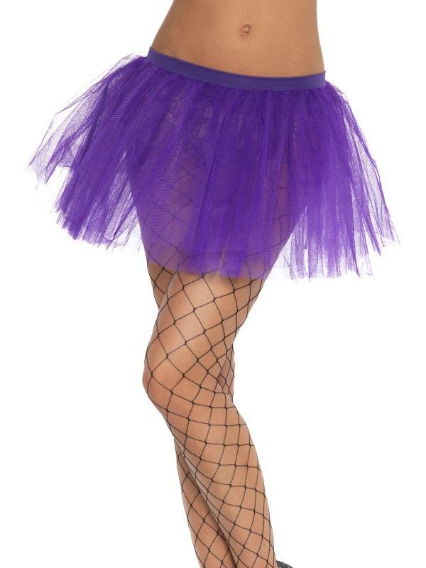 Spodnička - sukně fialová (55) Smiffys.com