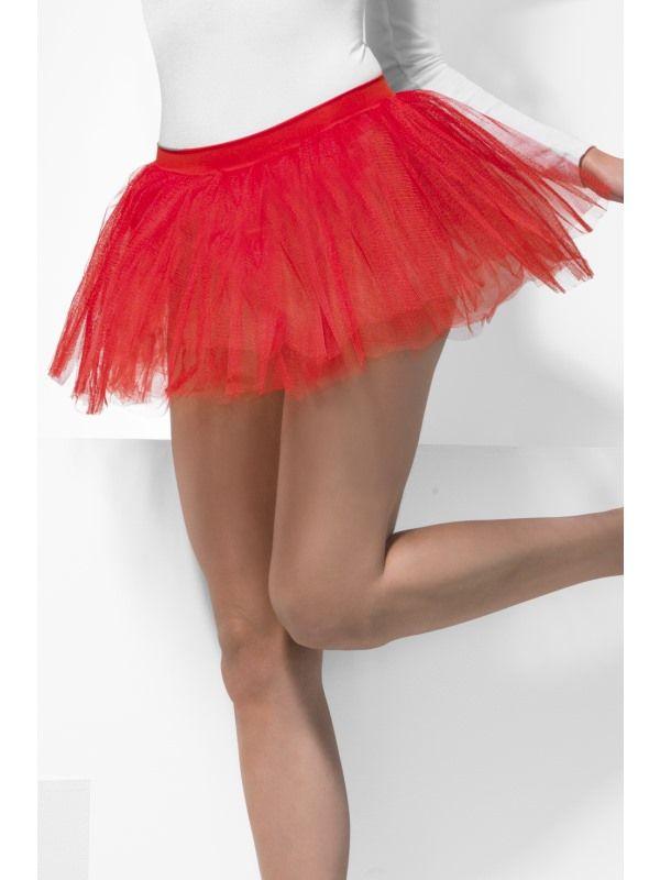 Spodnička - sukně červená (55) Smiffys.com