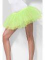 Spodnička - sukně neon zelená (55)
