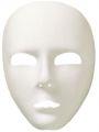 Maska bílá látková (16-D)