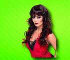 Paruka Vixen černočervená (3-G) Smiffys.com