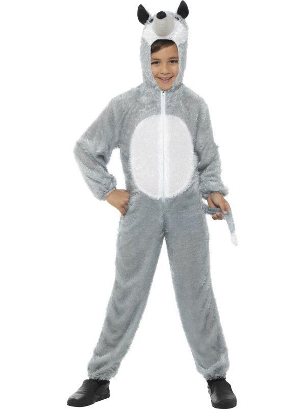 Dětský kostým - Vlk - 7-9 roků - M (86-F Smiffys.com