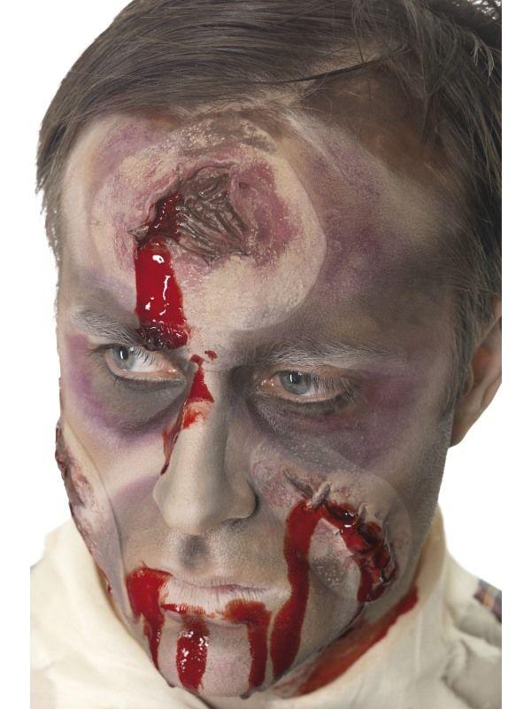 Jizva na hlavě s krví (48-C) Smiffys.com
