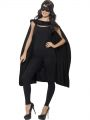 Plášť - černý + škraboška (85)