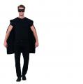 Plášť - černý + škraboška (85) Smiffys.com