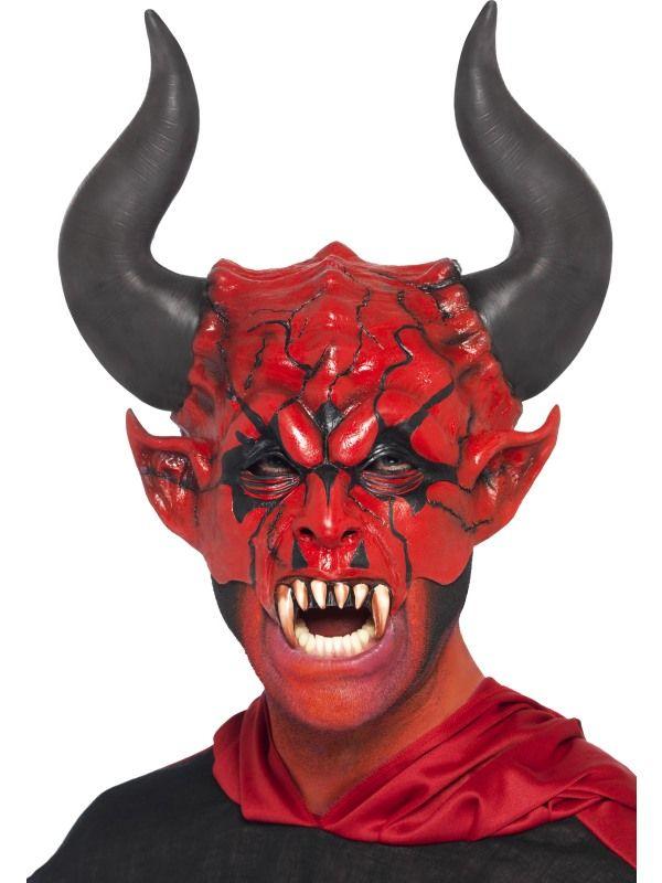 Maska čert 3/4 (89) Smiffys.com
