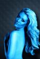 Barva na vlasy - UV a tělo modrý 75ml (15-G) Smiffys.com