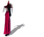 Plášť červený satén - (84-D) Smiffys.com