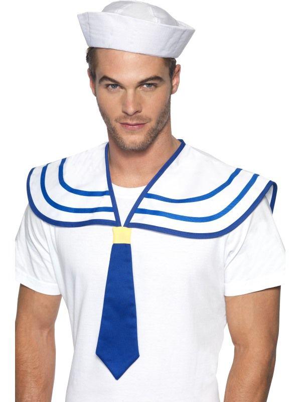 Límec s kravatou námořník (122-B) Smiffys.com