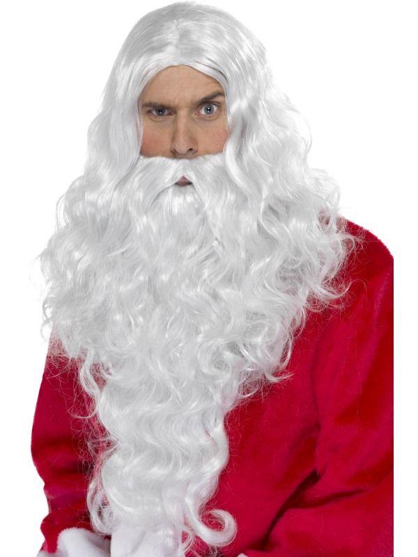 Sada Santa paruka a vousy (57) Smiffys.com