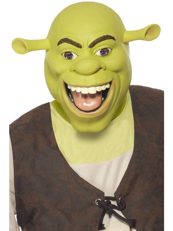 Maska Shrek (89) Smiffys.com
