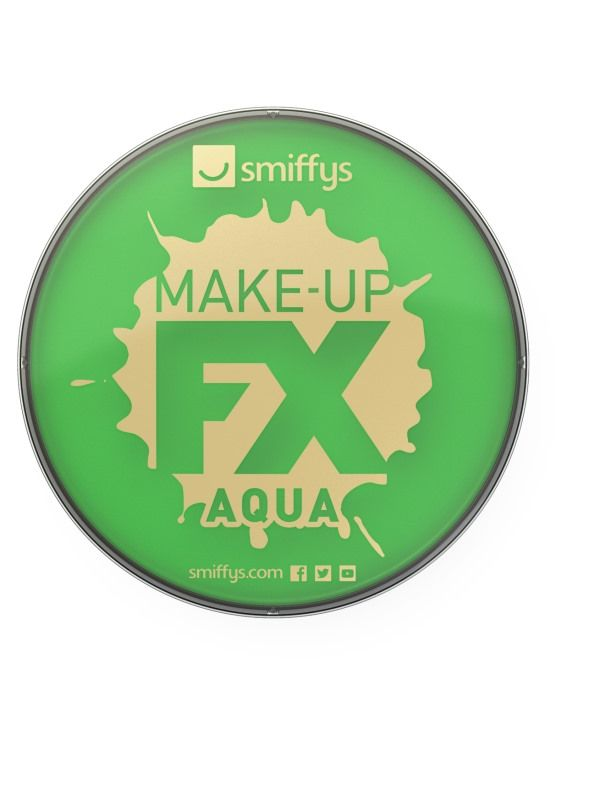 Líčidlo - zelené ředitelné vodou 16ml (15B) Smiffys.com