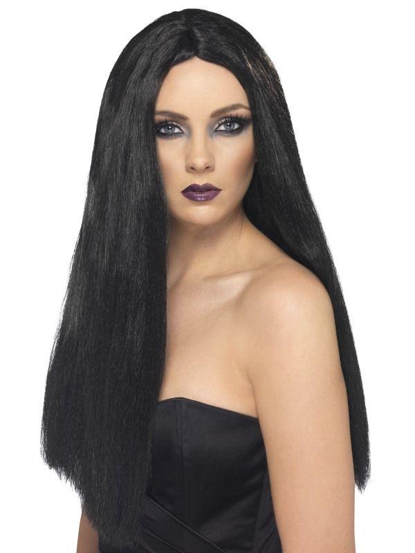 Paruka černá 60 cm (5-B,18A) Smiffys.com