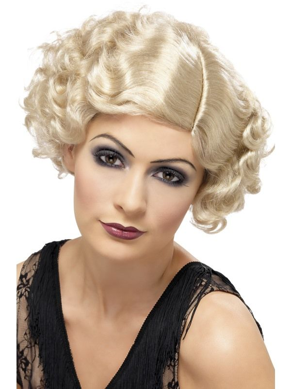 Paruka Flapper blond 20léta (3-A) Smiffys.com