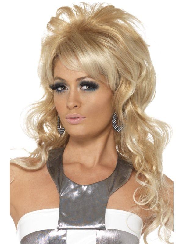Paruka blond 60 léta (4-C) Smiffys.com