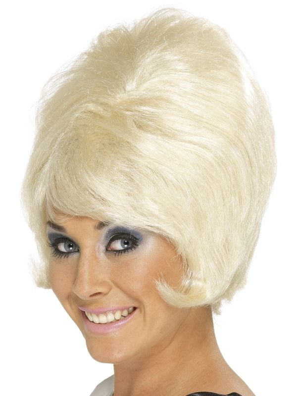 Paruka Beehive 60léta blond (4-E) Smiffys.com