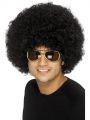 Paruka Funky  Afro černá 120g (3-H)
