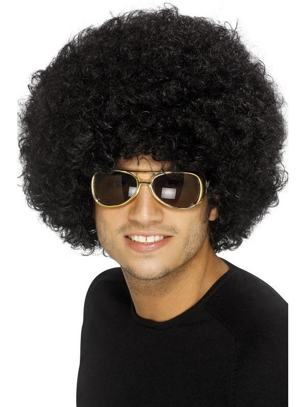 Paruka Funky Afro černá 120g (3-H) Smiffys.com