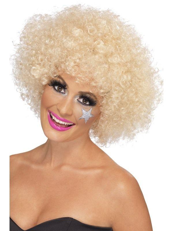 Paruka afro blond, 120g (2-G) Smiffys.com