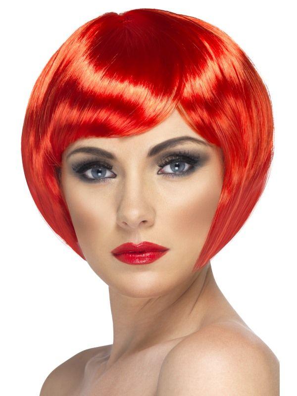 Paruka babe červená (3-C) Smiffys.com