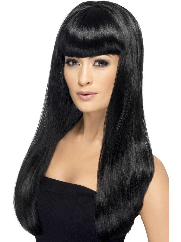 Paruka babelicious černá (5-E) Smiffys.com
