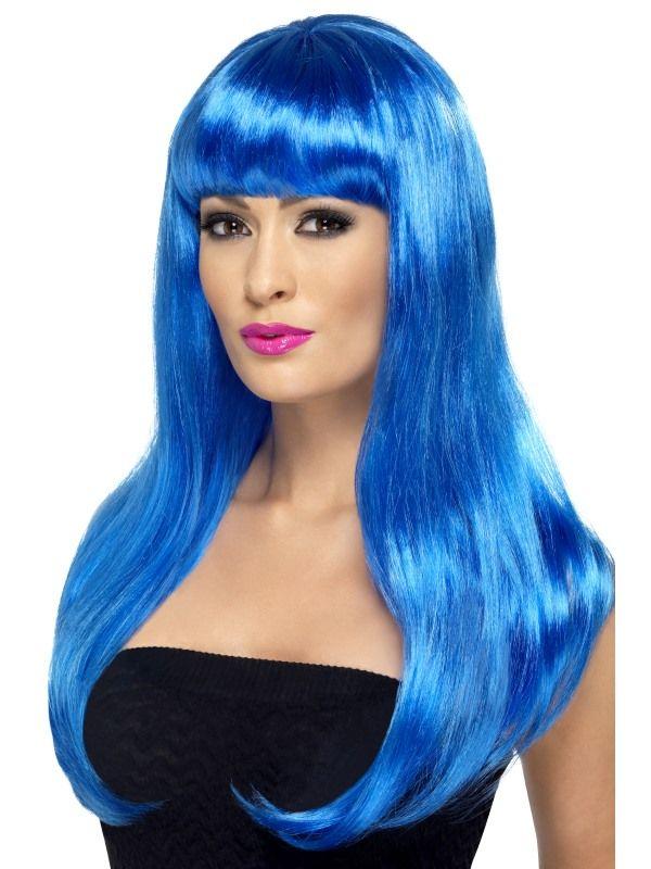 Paruka babelicious modrá (6-H) Smiffys.com