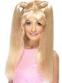 Paruka s culíky blond (4-G)