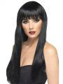 Paruka beauty černá dlouhá (5-E)